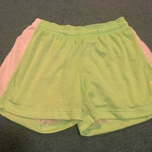 Reebok girls gym shorts M